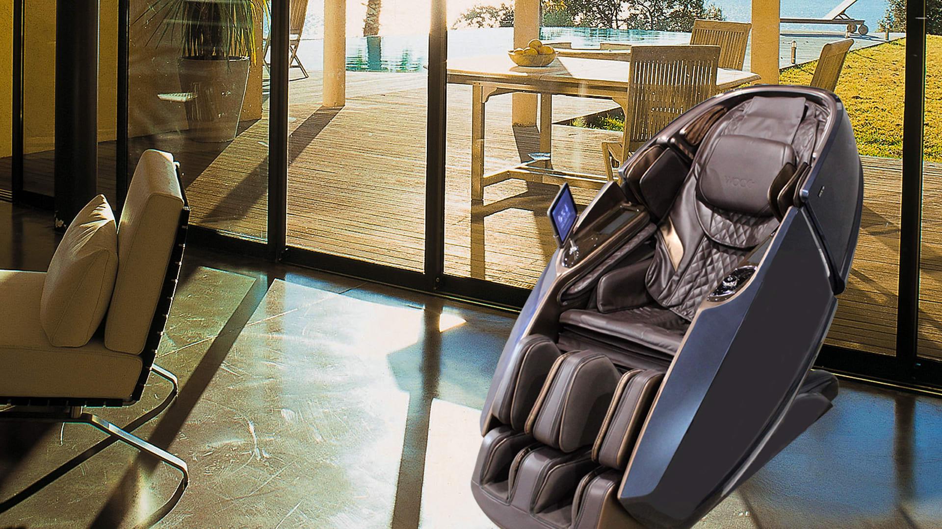 Galaxy X massagestol - stue eller kontor terasse område